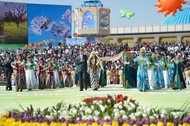 El Festival del Navruz o la Fiesta de la Primavera en Uzbekistán