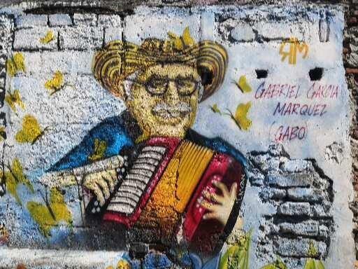 Menú Literario Gabriel Garcia Marquez