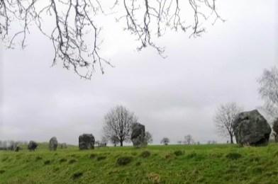El complejo megalítico de Avebury en Inglaterra