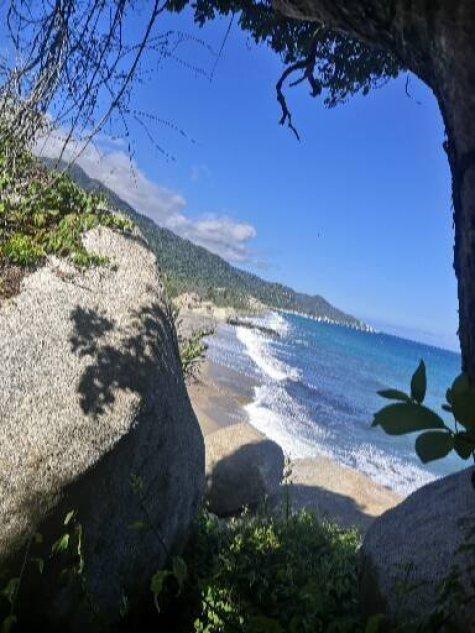 Parque Nacional de Tayrona en Santa Marta, Colombia
