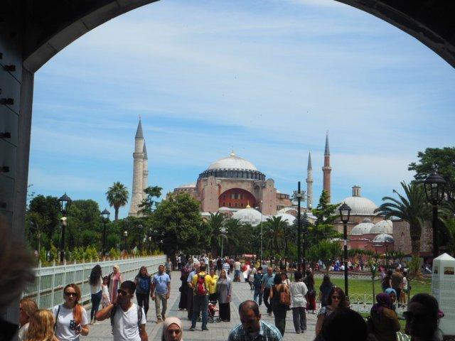 visita a Aya Sofia en Estambul