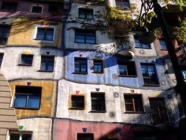 Hundertwasserhaus en Viena