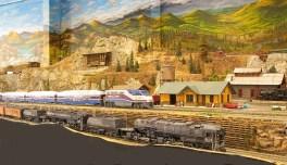 Cab Forward Consist and ACE train near Colfax