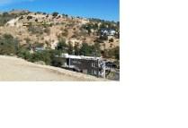 Train from Virginia City on hillside near Gold Hill