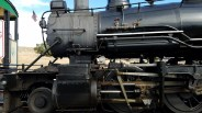 Close up of 29s valve gear