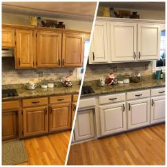 Kitchen Makeovers Cheap Ways To Redo Cabinets Oak Makeover