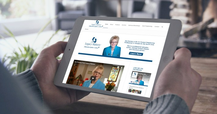 Legacy Matters - Web Designer Newmarket Rosewood VA