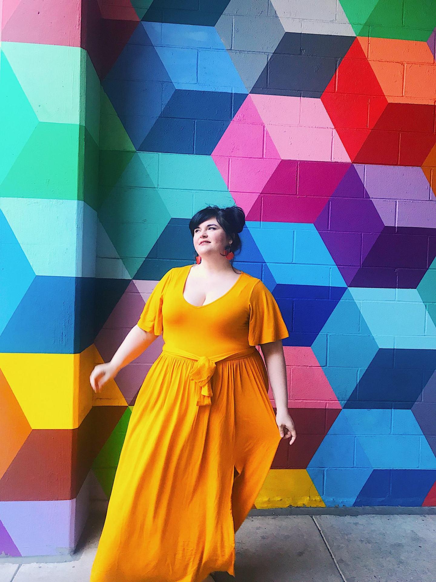 Plus Size Spring Style | Plus Size Maxi Dress Ideas