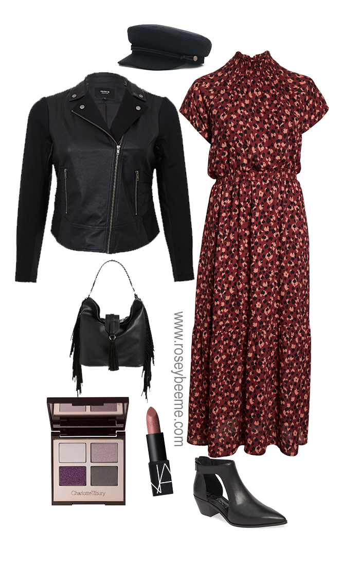 Plus size fall dress 1