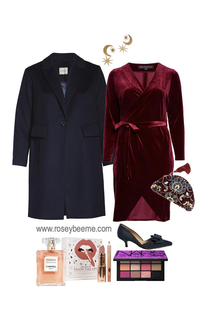 Fancy velvet outfit