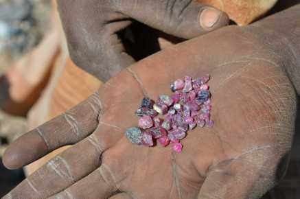An assortment of stones from Winza. Photo: Rosey Perkins
