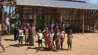 Children near Montepuez. Photo: Rosey Perkins