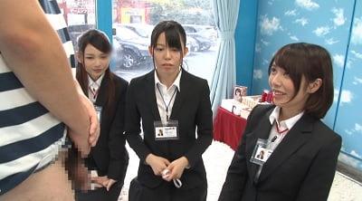 スーツ女子にチンポ露出CFNM1
