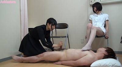 CFNM「男性検査」があるクリニック 女医の手コキ編10