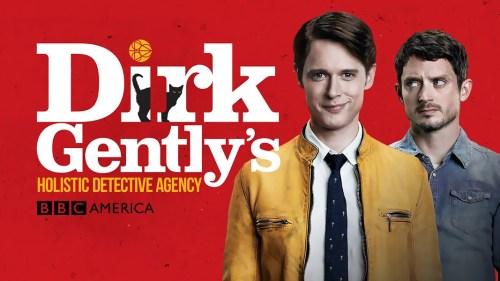 Dirk Gently: Agencia de investigaciones holísticas.