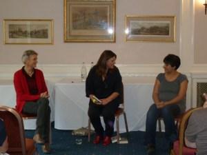 Alis Hawkins, Carole Green, Rosie Claverton