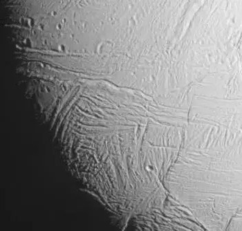 Saturn's moon as seen by Cassini
