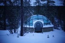 Northern Lights Finland Igloo Hotel