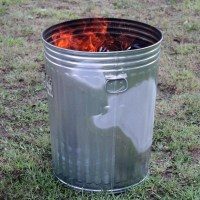 trash cans on fire  RosieSmrtiePants