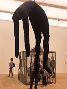 Louise bourgeois the cage piece called Cell Eyes and Mirrors