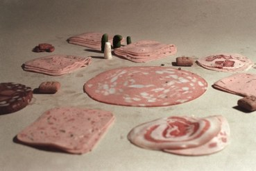 Don't play with your food: At the Carpet Shop 1979 by Peter Fischi and David Weiss