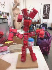 The sculptural figure I decided to take apart