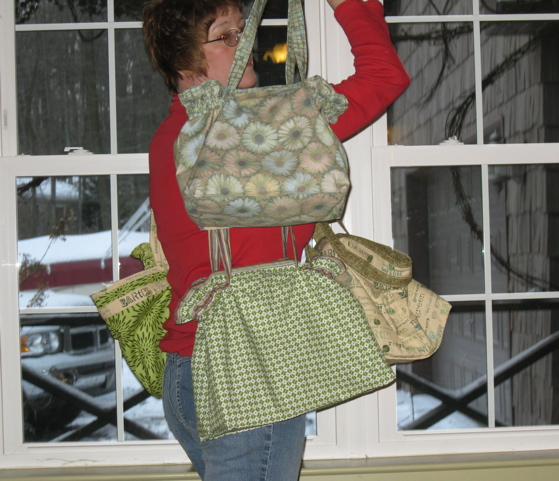 Shy Handbag Model