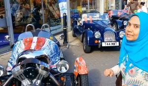 pameran mobil antik di inggris