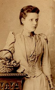 unidentified young woman, ca 1885