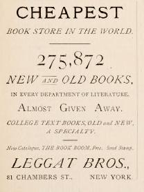 Cheap Books in 1883