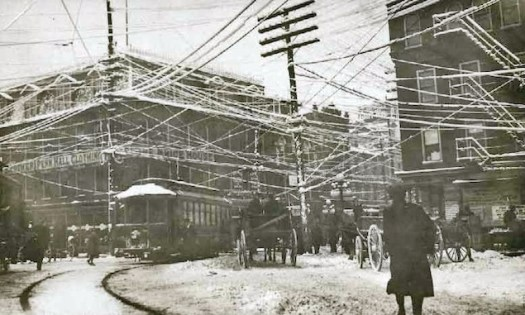 Winter traffic 1887