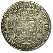 Spanish Milled Dollar