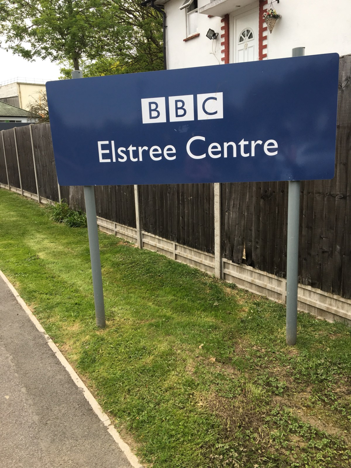 Our Road trip = BBC Elstree Studios with Kate