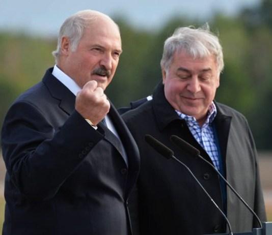 Лукашенко и Гуцериев