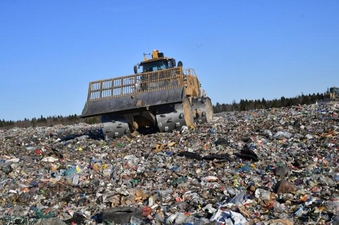 мусорный полигон, свалка