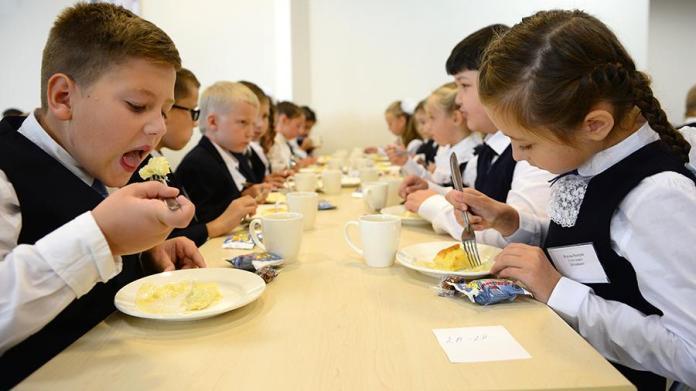 школьное питание, школьная столовая