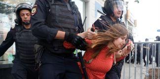 митинг, протест, задержание