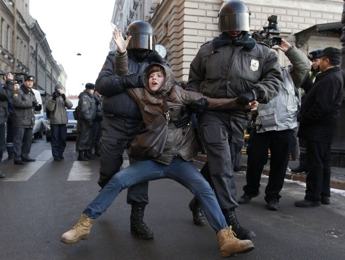 митинг, задержание, полиция