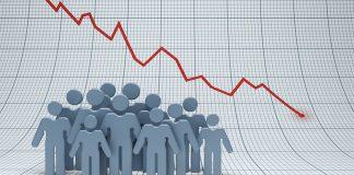 убыль населения, негативный тренд, сокращение рождаемости, смертность