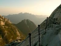 near the peak
