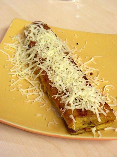 Resep Pisang Keju : resep, pisang, Resep, Pisang, Bakar, Spesial, Rositaharahap