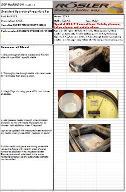 SOP sheet image