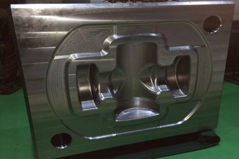 A forging die processed by Rosler's RDT