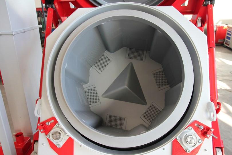 Rosler RMT Tumbler Bast Shot Blast Machine Barrel