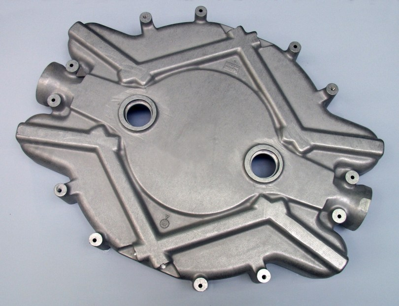 Mid-sized, less complex die cast part are ideal for wire mesh belt shot blast machines