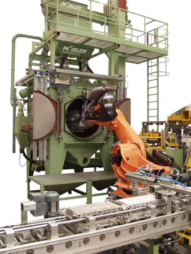 Rosler RROB Roboblaster Machine