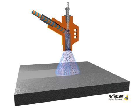 Rosler Wetblast Gun Schematic