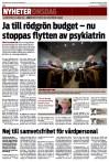 Ja till rödgrön budget (3) - Smålandsposten 141126