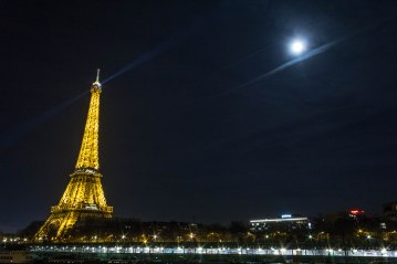 Paris by moon