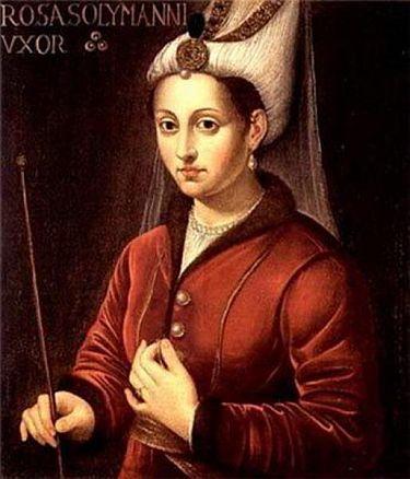 Roksolana - w Turcji znana jako Hürrem (1505-1558). Urodziła się jako Anastazja lub Aleksandra Lisowska. W młodym wieku trafiła do niewoli tureckiej. Około 1520 r. trafiła do pałacu pod skrzydła sułtana